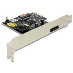 Carte PCI Express Sata 3Gbps 1 interne + 1 externe