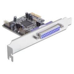 Carte PCI Express 2 série 1 parallèle Dual Profile