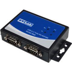 Adaptateur industriel USB 2 ports RS422/485