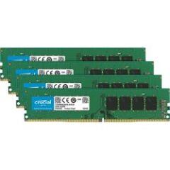 Kit de 4 mémoires DDR4 8GO CL17 SRx8 PC4-19200