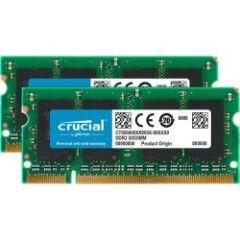 Kit de 2 mémoires SODDR2 2GO CL6 PC2-6400