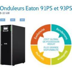 Eaton 91PS 8kW avec 32 batteries 9 Ah + MBS