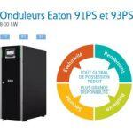 Eaton 91PS 10kW avec 32 batteries 9 Ah + MBS