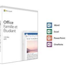 Microsoft Office Famille / �tudiant 2019 1-PC/MAC