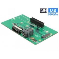 Adaptateur U.2 SFF-8643 > PCIe x4 ou M.2 Key M