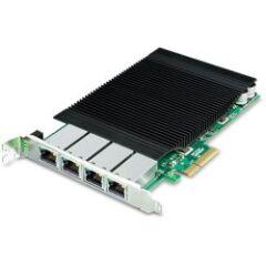 Carte réseau PCIe 4 ports Giga PoE 120W