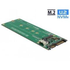 Adaptateur U.2 SFF-8654 ou SATA > M.2 Key M slot