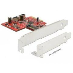 Carte USB 3.1 PCI Express Card 2x interne