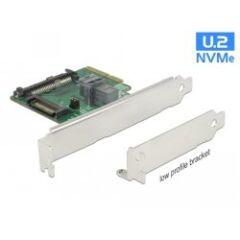 Carte PCIe U.2 NVMe SFF-8643 +SFF-8639 Dual profil