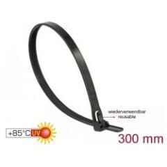 Pack de 100 serre-câbles réutilisables 300x7.6mm