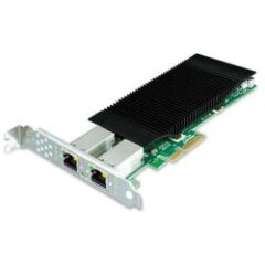 Carte réseau PCIe 2 ports Giga PoE 60W