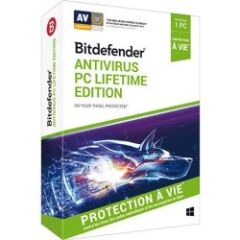 Boîte anti-virus Life Time 2019 1 PC