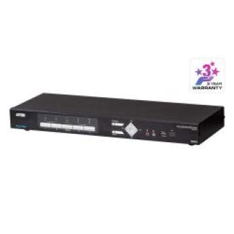 Swith KVMP 4 ports USB DVI Multi-View