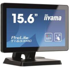 "Moniteur tactile 15.6"" PCAP sans cadre VGA HDMI DP"