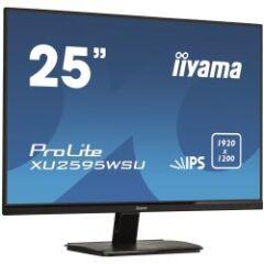 "Moniteur IPS 25"" mince 1920x1200 VGA DVI HDMI HP"