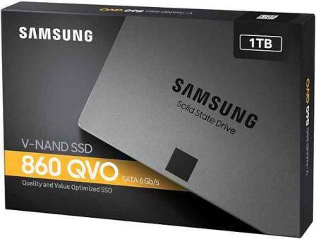 SSD Samsung 860 QVO 1 To SATA III - Format 2.5''
