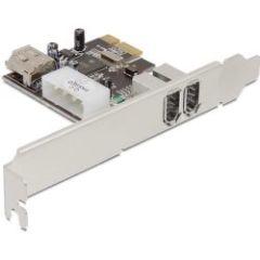 Carte PCI Express Firewire A 2+1ports