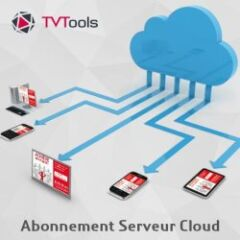 Solution d'affichage public TVTools Cloud 3 ans
