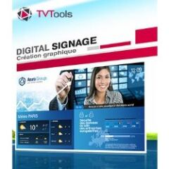 Solution affichage public TVTools On Premise 1voie