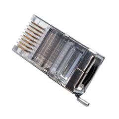 Boite de 100 connecteurs RJ 45 pour cable ext.