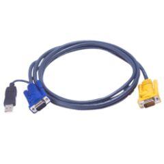 Câble KVM 2L-5203UP USB/VGA vers SPHD 3m