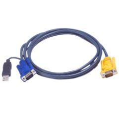 Câble KVM 2L-5206UP USB/VGA vers SPHD 6m