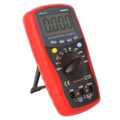 Multimètre numérique a paramétrage de gamme auto.