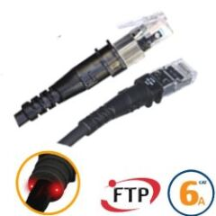 Cordon réseau RJ45 ThinPATCH Cat 6a U/FTP 2,1m