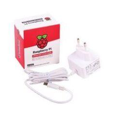 Alimentation blanche USB 5V 3A pour Raspberry Pi 4
