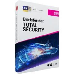 Bitdefender Total Security 2 ans 10 PC