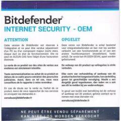 Bitdefender Internet Security OEM 1 an 1 PC