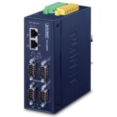 Serveur 4 ports séries ind. over IP RS232/422/485