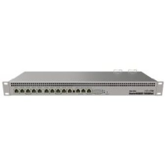 """Routeur 13 ports Giga RB1100AHx4 Dude 19"""" red PSU"""