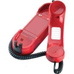 Téléphone d'urgence SIP 2 touches rouge