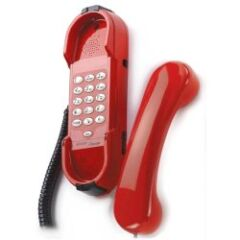 Téléphone SIP mural rouge HD2000