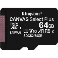 Carte Micro SDHC Canvas Select Plus 64Gb + adapt