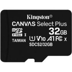 Carte Micro SDHC Canvas Select Plus 32Gb + adapt