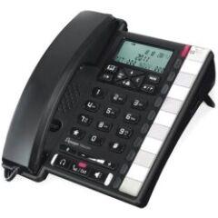 Téléphone analogique Premium 300 LCD noir