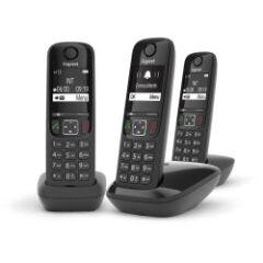 Téléphone DECT Gigaset AS690 (pack de 3)