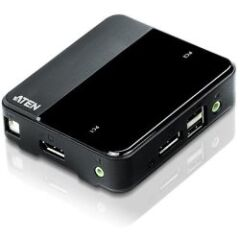 2-Port USB 4K DisplayPort 1.2 KVM Switch