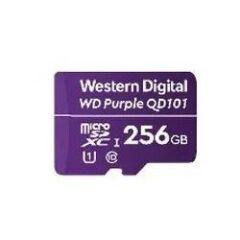 Carte Micro SDXC WD Purple 256GB -40/+85øC