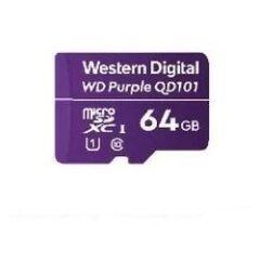 Carte Micro SDXC WD Purple 64GB -40/+85øC