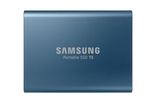 "SSD externe 500 GO -Format 2,5"" bleu"