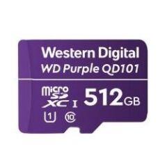 Carte Micro SDXC WD Purple 512GB -40/+85øC