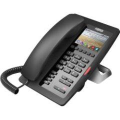 Téléphone SIP H5W-Hotel PoE noir