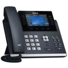 """Téléphone SIP T4U 16 comptes Giga PoE couleur 4"""""""