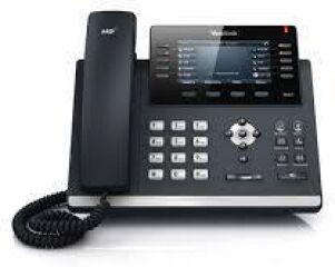"""Téléphone SIP T46S 16 comptes Giga PoE couleur 4"""""""